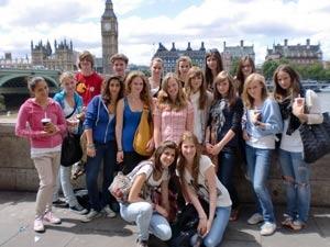 Campamento de verano en Londres